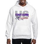 US Coast Guard Husband Hooded Sweatshirt