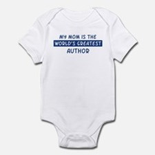Author Mom Infant Bodysuit