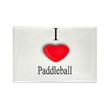 Paddleball Rectangle Magnet