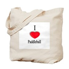 Paddleball Tote Bag