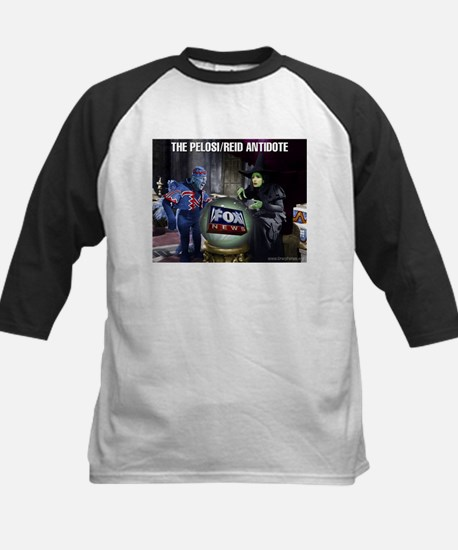 Political Art Montage Kids Baseball Jersey
