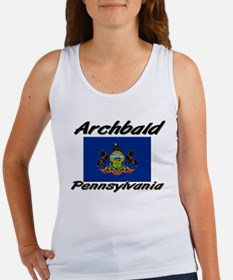 Archbald Pennsylvania Women's Tank Top
