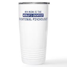 Educational Psychologist Mom Travel Mug