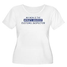 Customs Inspector Mom T-Shirt
