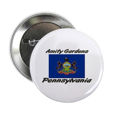 """Amity Gardens Pennsylvania 2.25"""" Button"""