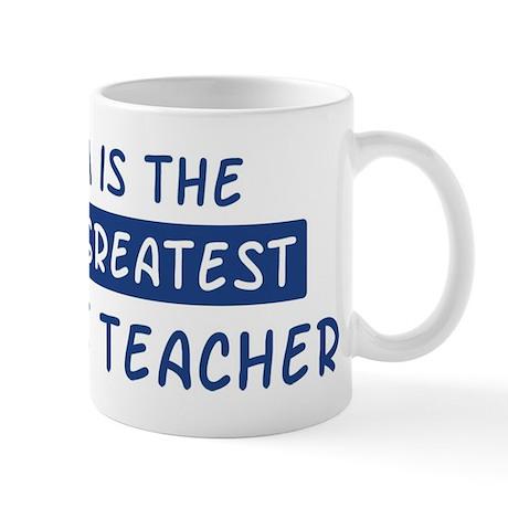 1st Grade Teacher Mom Mug