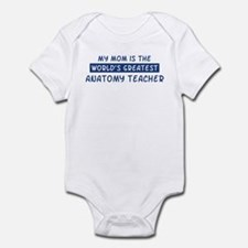 Anatomy Teacher Mom Infant Bodysuit