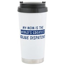 Airline Dispatcher Mom Travel Mug