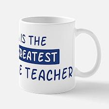 Agriculture Teacher Mom Mug