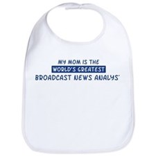 Broadcast News Analyst Mom Bib