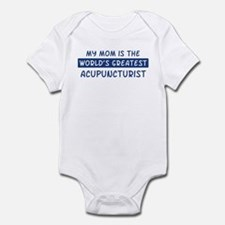 Acupuncturist Mom Infant Bodysuit