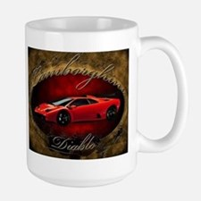 Red Lamborghini Diablo Mug