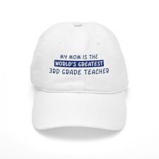 3rd Grade Teacher Mom Baseball Cap