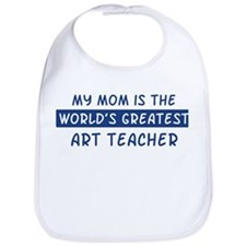 Art Teacher Mom Bib