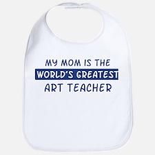 Art Teacher Mom Bib