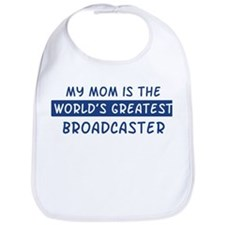 Broadcaster Mom Bib