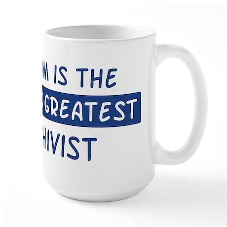 Archivist Mom Large Mug