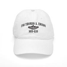 USS THOMAS A. EDISON Cap