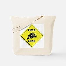 Pizza Zone Tote Bag