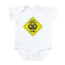 Soft Pretzel Zone Infant Bodysuit