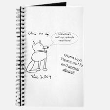 Gloria the dog Journal