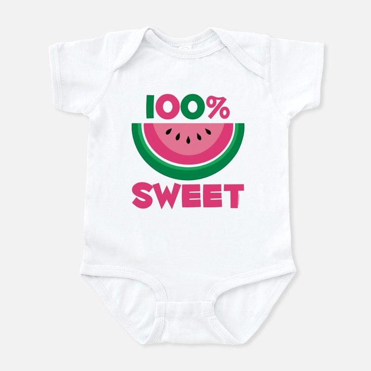 100% Sweet Watermelon Infant Bodysuit