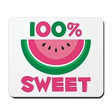 100% Sweet Watermelon Mousepad
