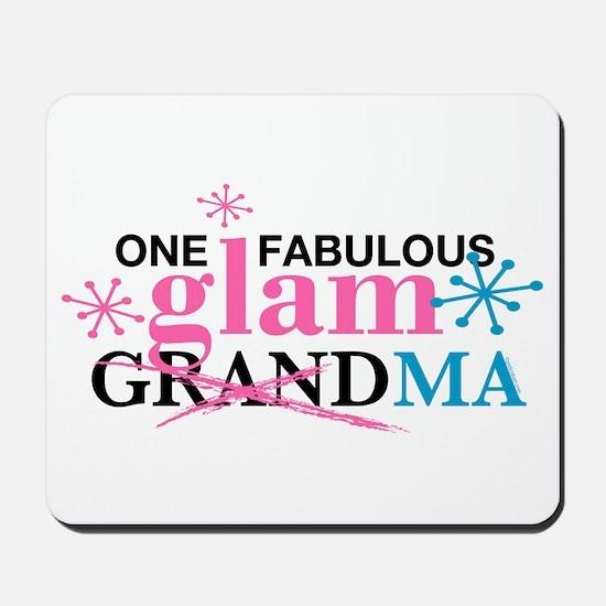 Glam Grandma Mousepad