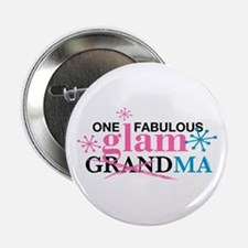 "Glam Grandma 2.25"" Button"