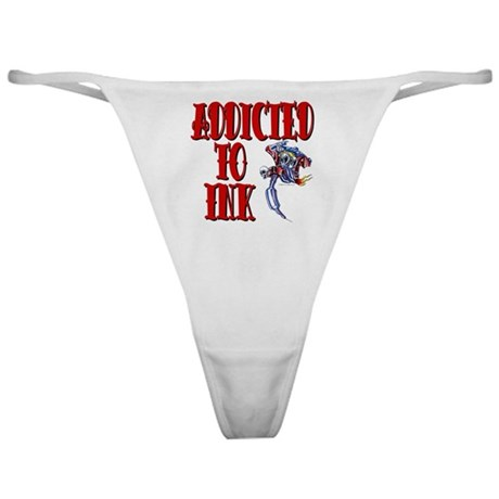 Addicted to Ink Classic Thong