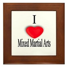 Mixed Martial Arts Framed Tile