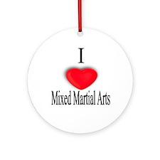 Mixed Martial Arts Ornament (Round)
