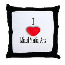 Mixed Martial Arts Throw Pillow