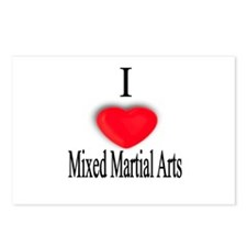 Mixed Martial Arts Postcards (Package of 8)