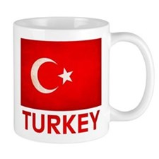 Turkey T-Shirt Small Mug