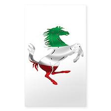 Italian Stallion Italy Flag Decal
