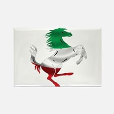 Italian Stallion Italy Flag Rectangle Magnet