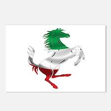 Italian Stallion Italy Fl Postcards (Package of 8)