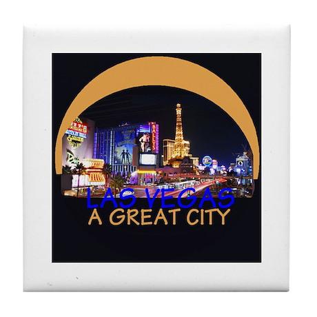 City Las Vegas Tile Coaster