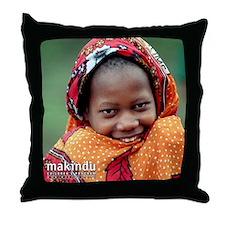 Kibibi Throw Pillow