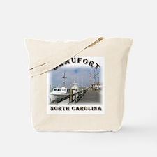Beaufort Waterfront Tote Bag