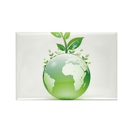 The Green Factor Rectangle Magnet (10 pack)