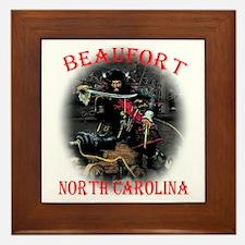Blackbeard Beaufort, NC. Framed Tile