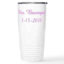 Mrs. Baumgart 5-15-2010 Travel Mug