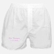 Mrs. Baumgart 5-15-2010 Boxer Shorts