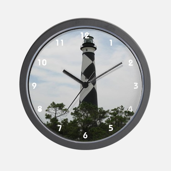 Cape Lookout Wall Clock