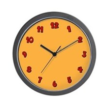 Fleeting Expletive Wall Clock