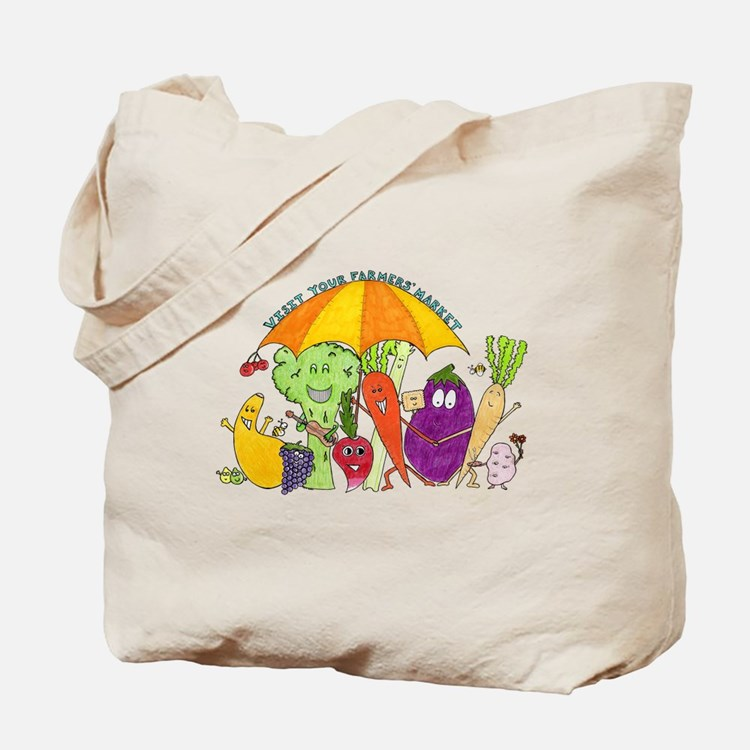 Farmers' Market Tote Bag