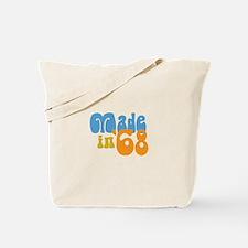 Made in 1968 (Retro) Tote Bag