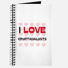 I LOVE CRYPTANALYSTS Journal